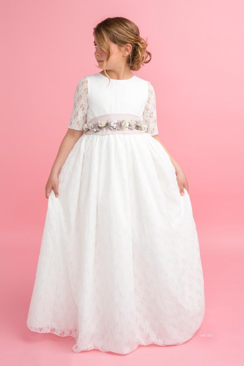 Vestido de comunión Magnífica Lulú, Mod.110 - La Novia | Todo lo ...