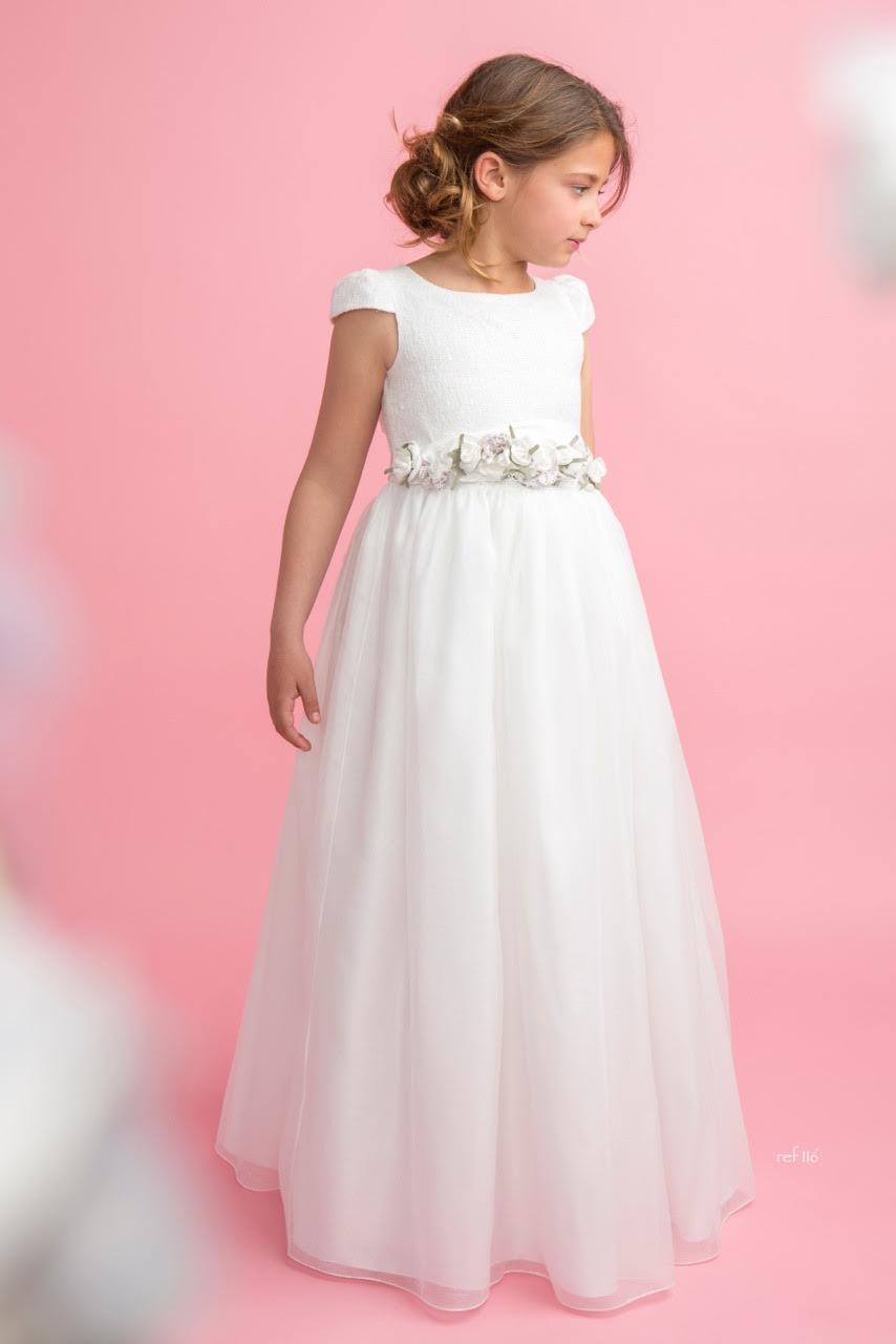 Vestido de comunión Magnifica lulú, Mod.116 - La Novia | Todo lo ...