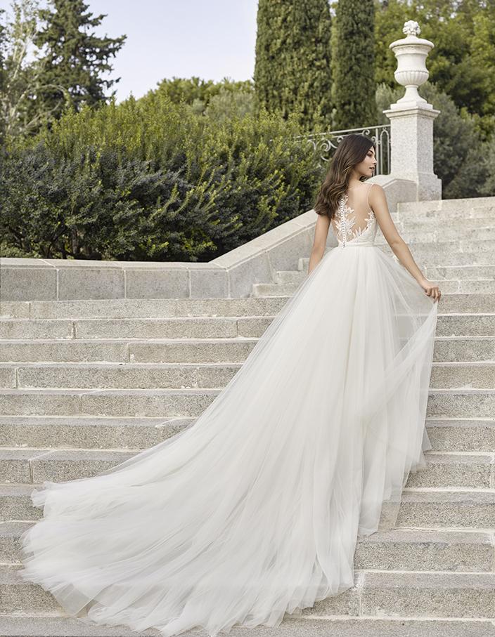 Vestido de Novia, Adriana Alier Mod.Indiana - La Novia | Todo lo ...